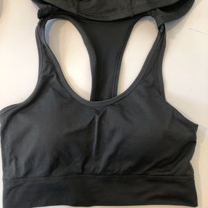 Other - Hooded caged sports bra